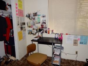My desk area.